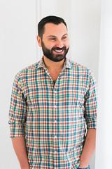 Fabrizio. (jamiemonsteroo) Tags: seattle bear gay portrait smile studio italian photographer photoshoot portraiture 500px ifttt