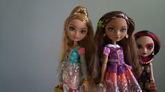 My dolls (dancingmorgana) Tags: high dolls ella after ever rebels royals ashlynn everafterhigh