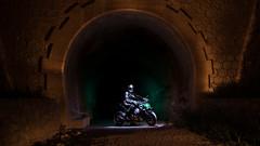 LightMotos_5 (Suso Sinmiedo) Tags: blue lightpainting verde green azul alicante motorbike moto tunel agost pilito vaverdedelmaigm