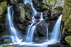 fallin' (ck0375s) Tags: nature water rock japan creek landscape waterfall nikon stream outdoor