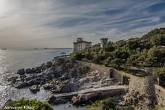 Castello Boccale e la sua baia (Roman_77) Tags: sea sky tower landscape nikon italia nuvole mare torre d750 toscana castello livorno paesaggio baia calafuria castelloboccale roman77