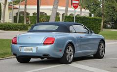 Bentley Continental GTC (RudeDude2140a) Tags: blue sports car continental convertible exotic bentley gtc