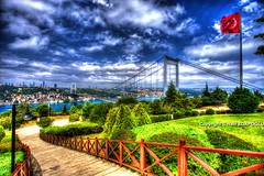 HDR Bosphorus from Otatepe (Halil Sopaolu HN I Photography) Tags: canoneos6d canon canonphotography canondsrl canonllenses europeanside turkey travel sky outdoor buildings follow otatepe love monfrotto copyright colorfull photography photofday photo plant asiaside architecture skyline cloud flickr flickrphoto greatshot green grass greatlandscape like4like like landscape halil2016 historicalbuilding hdr hdristanbul hdrcity nicepicture