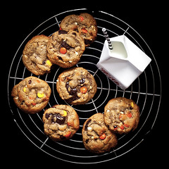 GF Peanut Butter Reese's Cookies (Sweet Scot) Tags: food vintage dessert baking yummy cookie sweet biscuit eat homemade peanutbutter bake foodphotography foodstyling