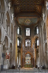 Interior - Peterborough Cathedral (greentool2002) Tags: