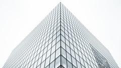 Archi in Paris (Louis Lefranc) Tags: white black paris france building monochrome architecture canon triangle francois symetry bibliothque 6d mitterrand