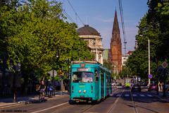Duewag O #907 (ukasz Janowicz) Tags: 907 pozna mpkpozna tram tramwaj strassenbahn zweirichtung linka28 linie28 linia28 duewago