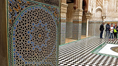 Medersa el-Attarine, Fes (macloo) Tags: geometric architecture tile morocco fes zellij
