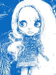 Shannon in blau gefallen :-)