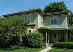 Naperville, IL, Historic Dictrict, Victorian House (Mary Warren (7.0+ Million Views)) Tags: house building architecture victorian historic residence napervilleil