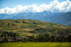 Urubamba Valley (cheryl strahl) Tags: peru southamerica farming heartland agriculture sacredvalleyoftheincas urubambavalley