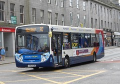 27810 - SV62 BZB (Cammies Transport Photography) Tags: street bus square coach union aberdeen bluebird 300 alexander dennis stagecoach enviro 7c 27810 bzb sv62 sv62bzb