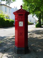 Cheltenham, Gloucestershire (Oxfordshire Churches) Tags: cheltenham gloucestershire panasonic lumixgh3 england uk unitedkingdom johnward royalmail postboxes letterboxes mailboxes pillarboxes vr pb100602 gl5238 jwpenfold penfold cochranegroveco hexagonal victorian listedbuildings gradeiilisted