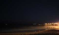 Cool Crisp Clear sky at Curly (simon60d) Tags: ocean city longexposure sea sky seascape beach nature night stars landscape outdoors lights evening cool sand surf waves alone calm shore relaxed