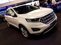 Ford Edge (Headboltz) Tags: ford edge london motor show battersea suv