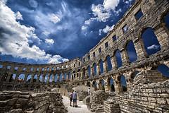Het betere (Romeinse) Stapelen !!/ (jo.misere) Tags: stones arena pola pula istri stenen fliter romeins 1024mm