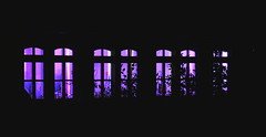 Party in Purple (ericgrhs) Tags: longexposure windows night purple nacht fenster lila
