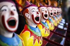 Laughing Clowns (Ancon0031) Tags: show games clowns sideshow maleny carnivalgames laughingclowns