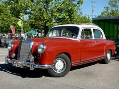 Mercedes Benz 220 S Ponton 1956 2200 ccm 105 PS (ludmillafan132) Tags: auto mercedes mercedesbenz autos oldcars mb daimler daimlerbenz kraftfahrzeuge oldtimeroldtimercarcarsbeautiful oldtimeralte