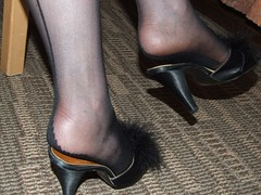 BlackSeamedStockings&Garter 021 (legandheel.lover) Tags: feet stockings pumps highheels legs lingerie wife heels ankles stilettos garterbelt seams