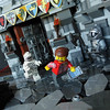 Second Scary Moment (Sweeney Todd, the Lego) Tags: lego bear project monster museum frankenstein ghost ghosts photography minifigure minifigures castle scary spooky horror tower dracula