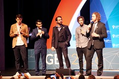 The Cast of Silicon Valley - Global Entrepreneurship Summit 2016 (InPursuingDesign) Tags: google panel president business valley silicon speech obama hbo potus barack entrepreneur zuckerberg ges2016