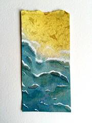 Playa (lauramurillom) Tags: arena azul blue mer mar sea ocean sand coast costa playa beach agua aqua water eau disegno dessin dibujo drawing