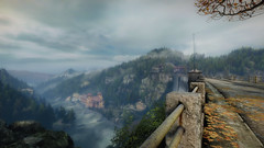 VOEC - 032 (Screenshotgraphy) Tags: sunset sky mountain lake game nature colors architecture clouds contrast montagne landscape pc screenshot lumire couleurs country lac ethan steam gaming ciel beaut carter concept nuages paysage vanishing campagne beautifull jeu naturelle urbain