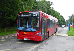 GAL SE211 - YY14WEP - SIDCUP QM HOSPITAL - MON 13TH JUNE 2016 (Bexleybus) Tags: london ahead hospital kent go central queen route 200 marys dennis enviro tfl adl sidcup 286 goahead se211 yy14wep