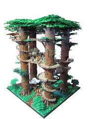 Ewokdorf 07 (KW_Vauban) Tags: starwars lego endor ewokvillage episodevi thereturnofthejedi