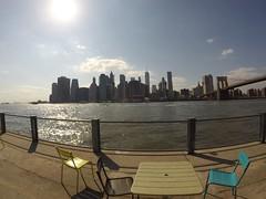 Brooklyn Park. Sunny Day (Tatox_) Tags: brooklynbridge sunny day wallstreet