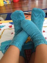 Tube socks (KarMyl) Tags: socks done