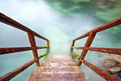Steps into Newquay Harbor (Shockin Goblin) Tags: longexposure water harbor cornwall steps calm descend milky kernpow