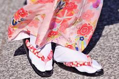 Footsteps | Kyoto (京都市), Japan (Ping Timeout) Tags: world city pink november autumn red vacation woman mountain holiday flower color colour texture up japan lady wonder temple highlands kyoto shrine pattern close outdoor buddhist capital basin unesco mount fabric 京都 imperial 日本 nippon kimono priest prefecture miyako kansai region 清水寺 kiyomizudera pilgrimage metropolitan yamashiro footstep kannon 着物 778 nichiren nishiyama higashiyama honshu 2015 reijo きもの kitayama keishi 1633 otowa tamba 都 京都市 音羽山清水寺 京 saikyō 京の都 京師 kyō autoremovedfrom1to5faves wwwkiyomizuderaorjpen