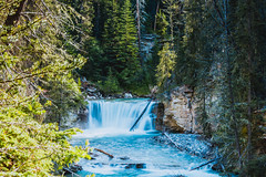 MH5_9224 (memories by Mark) Tags: rockies waterfall alberta banff rockymountains banffnationalpark johnstoncanyon