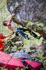 Dave_Graham_Parnassus 8a+ by Klaus Dell'Orto