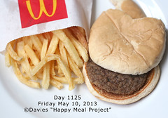 Day 1125 Happy Meal Project Sally Davies (sally davies photo) Tags: mcdonaldshappymeal sallydavies sallydaviesphoto happymealproject davieshappymealproject burgerwillnotrot