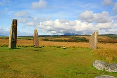 Standing stones (gmj49) Tags: scotland standingstones sony moor isle arran machrie gmj a350