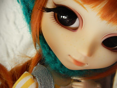 Candela is finished (h i r o m i) Tags: eyelashes wig carrot pullip freckles sbhs obitsu tiphona