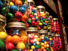 In A Row (Megan.Maloney.93) Tags: gum photography candy row jar