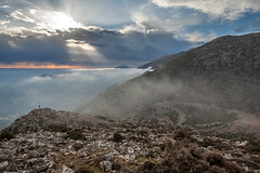 A day's culmination (macropoulos) Tags: mountains clouds landscape 500v20f greece 500v50f crete rays 1000v100f topf100 canonef2470mmf28lusm gettyimages rouvas raysoflight canoneos5d 1500v60f 1000v40f 3000v120f 30faves30comments300views gergeri gettyimages:dateadded=20130626