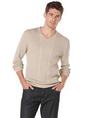 Perry Ellis Long Sleeve Ribbed VNeck Sweater (appareljar.com) Tags: sweater long ribbed sleeve vneck longsleeveribbedvnecksweater