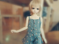 A summer vintage (♥Kacheese♥) Tags: doll bjd leeke leekeworld dollga ojallin