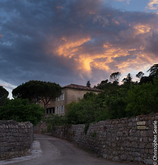 Last light 2 (Jeaunse23) Tags: sunset france skies ardeche lastlight