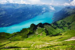 View from Rothorn (ceca67) Tags: lake nature landscape schweiz switzerland brienzersee moutain rothorn svetlanaperic