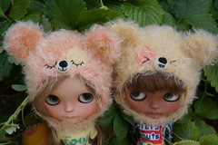 Special citrus and tangerine twin set