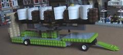 Wagon Wheel (RS 1990) Tags: carnival amusement ride lego setup motor trailer operation funfair base unpacking wagonwheel loading assembly erecting moc lrides markkujaaskelainen