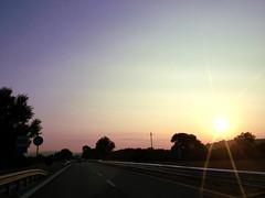 perstrada. (alesorride) Tags: street sunset sky strada tramonto cielo marche tolentino macerata alesorride
