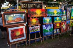 Far North Art (Serendigity) Tags: sunset art painting markets stall australia darwin northernterritory mindilbeach