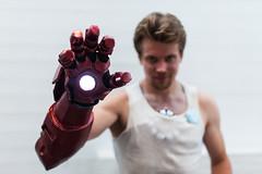 Tony Stark aka Iron Man (mrksaari) Tags: summer man espoo finland blog costume iron tony event stark con otaniemi ropecon dipoli 2013 50mmf14g d700